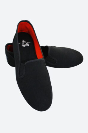 Canvas Casual Slip-On Shoes Black