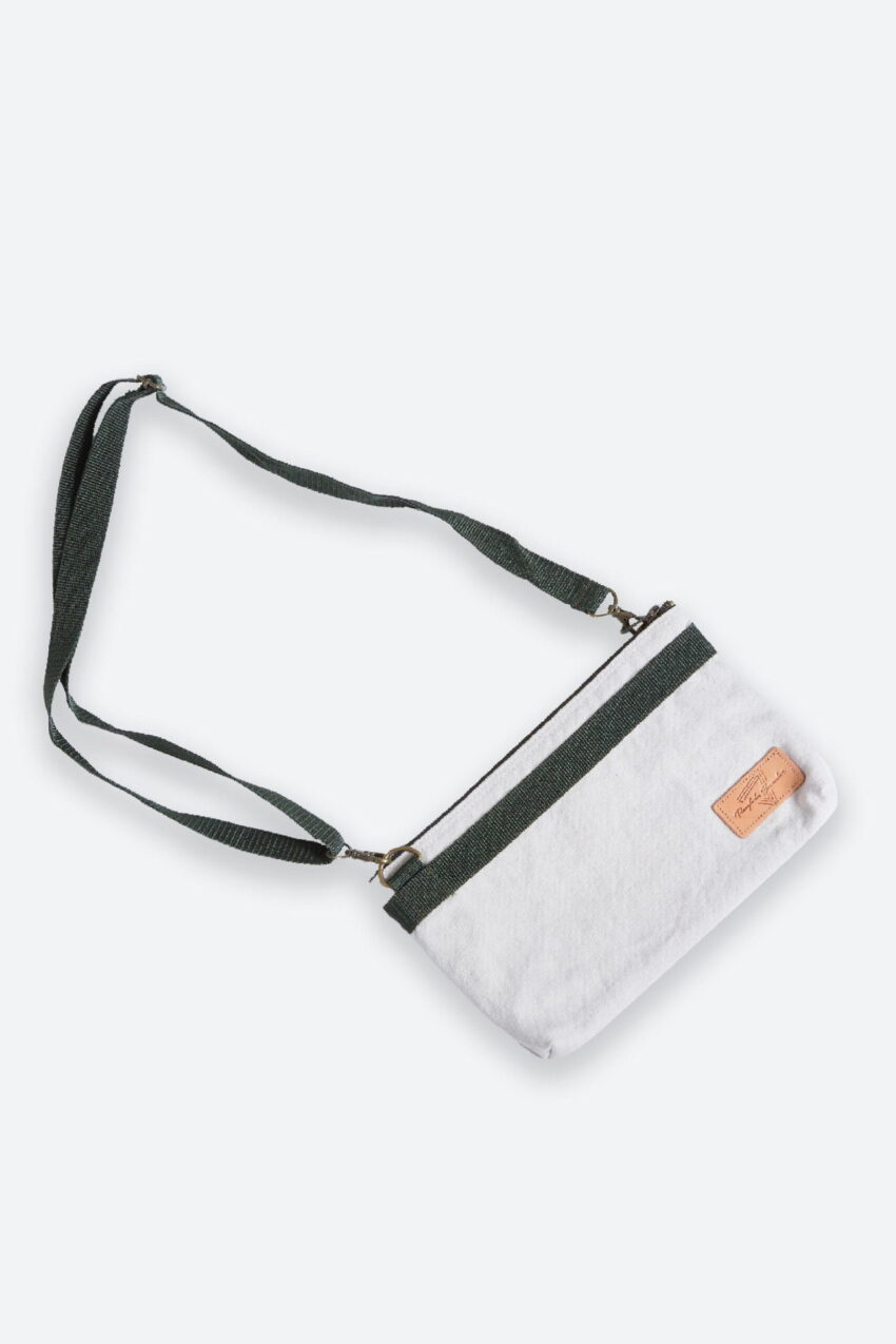 Mini Shoulder Bag White